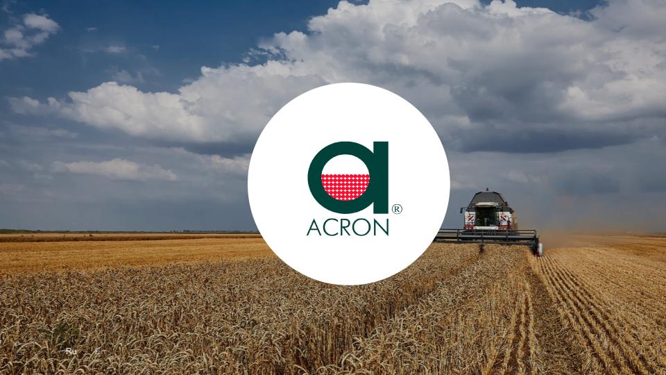 Корпоративный сайт Acron