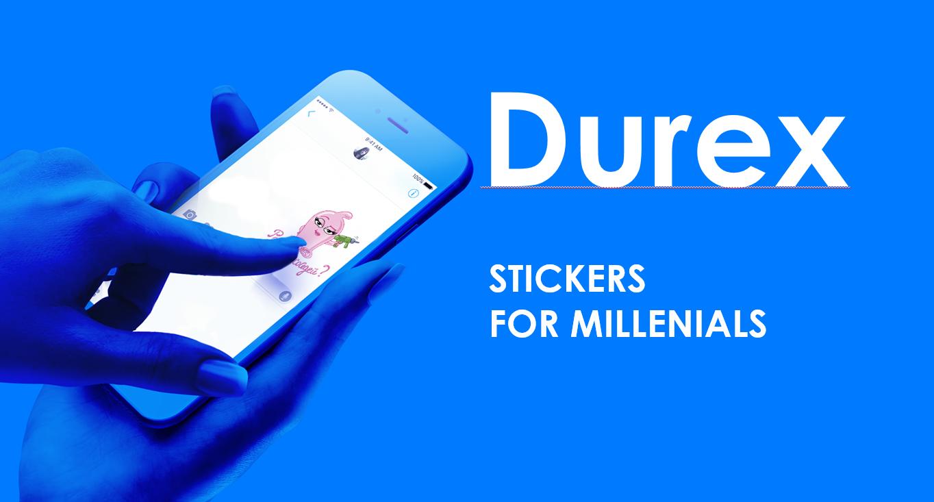 Стикеры Durex ВКонтакте