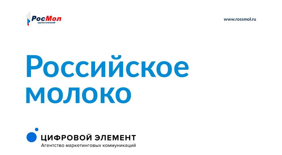 Разработка корпоративного сайта группы компаний «Росмол»