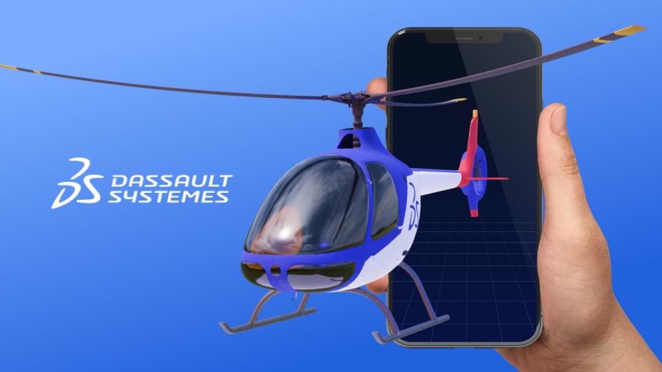 Разработка AR-приложения для Dassault Systèmes