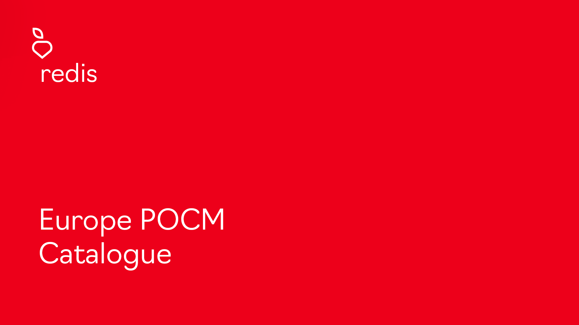 POCM Catalogue