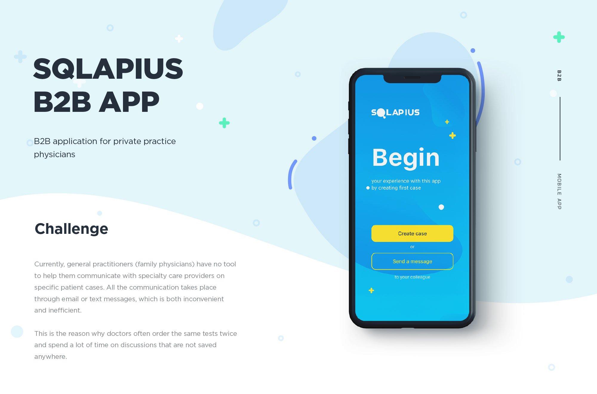 Мобильное приложение для врачей Squlapius