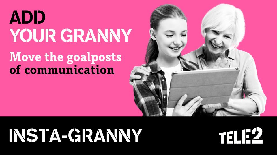 Tele2: «Инста-бабушка»