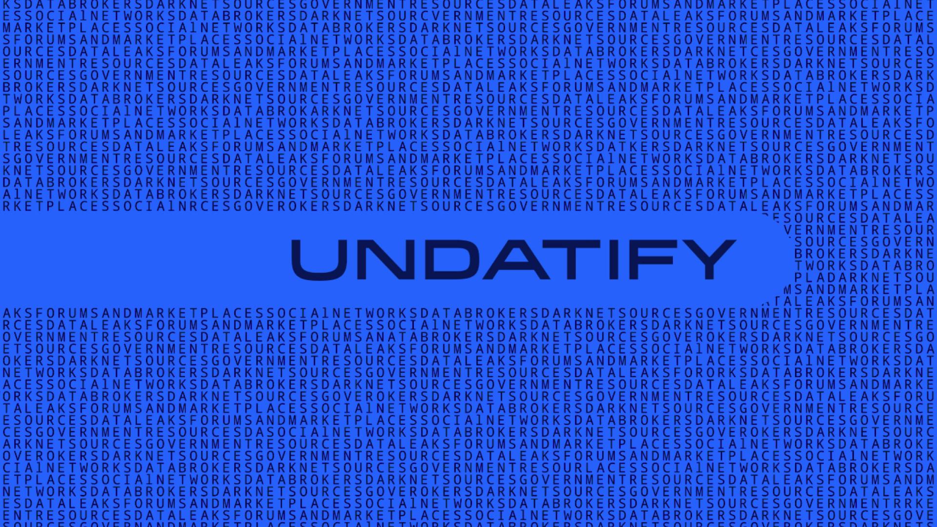 Брендинг сервиса по защите персональных данных Undatify