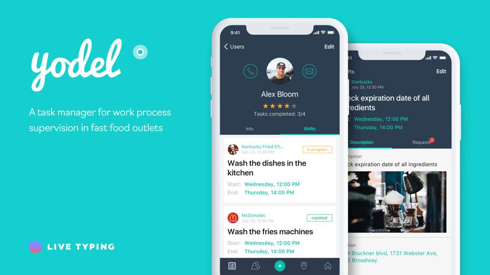 Мобильное приложение Yodel