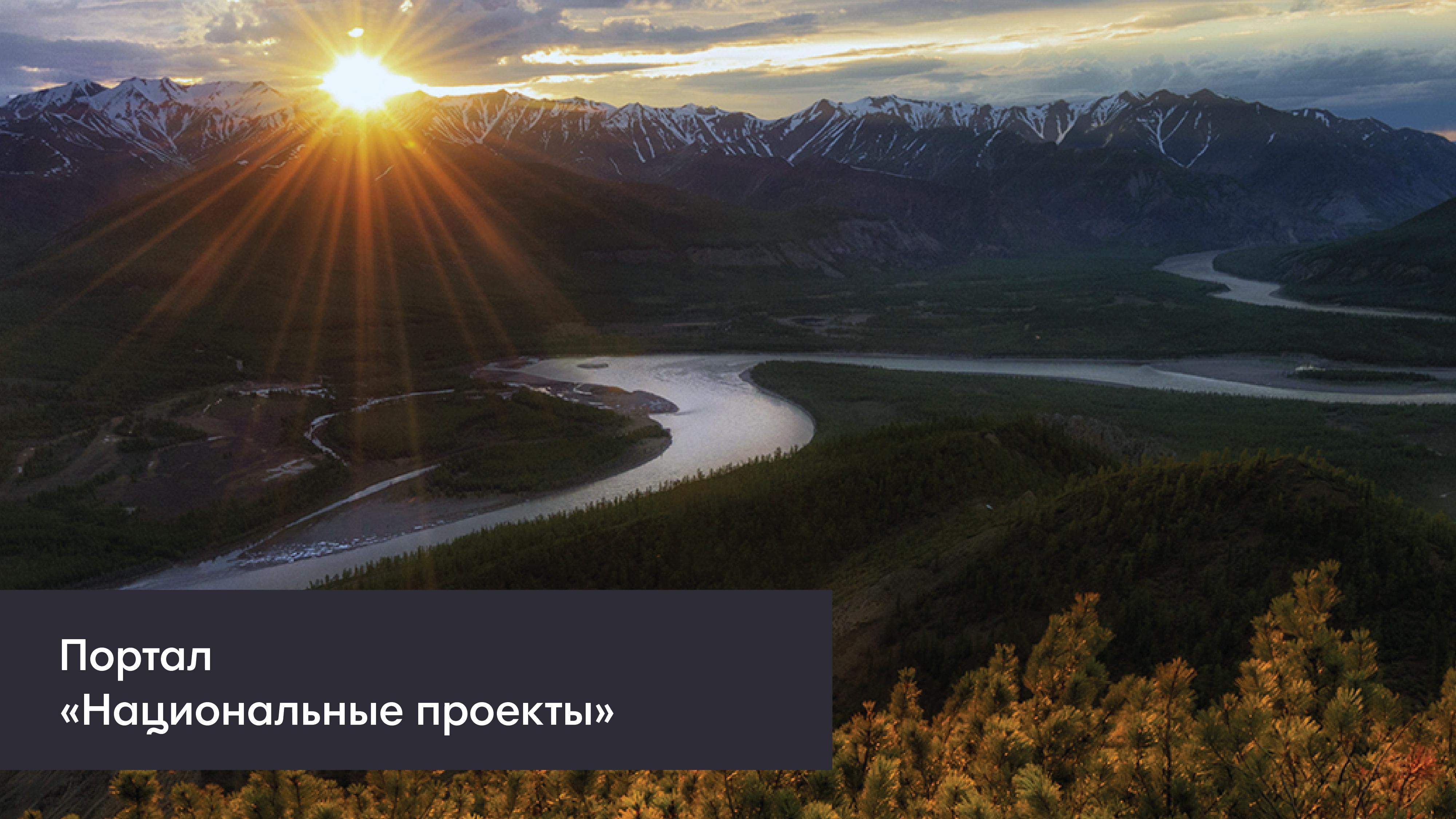 Портал «Национальные проекты: будущее России»