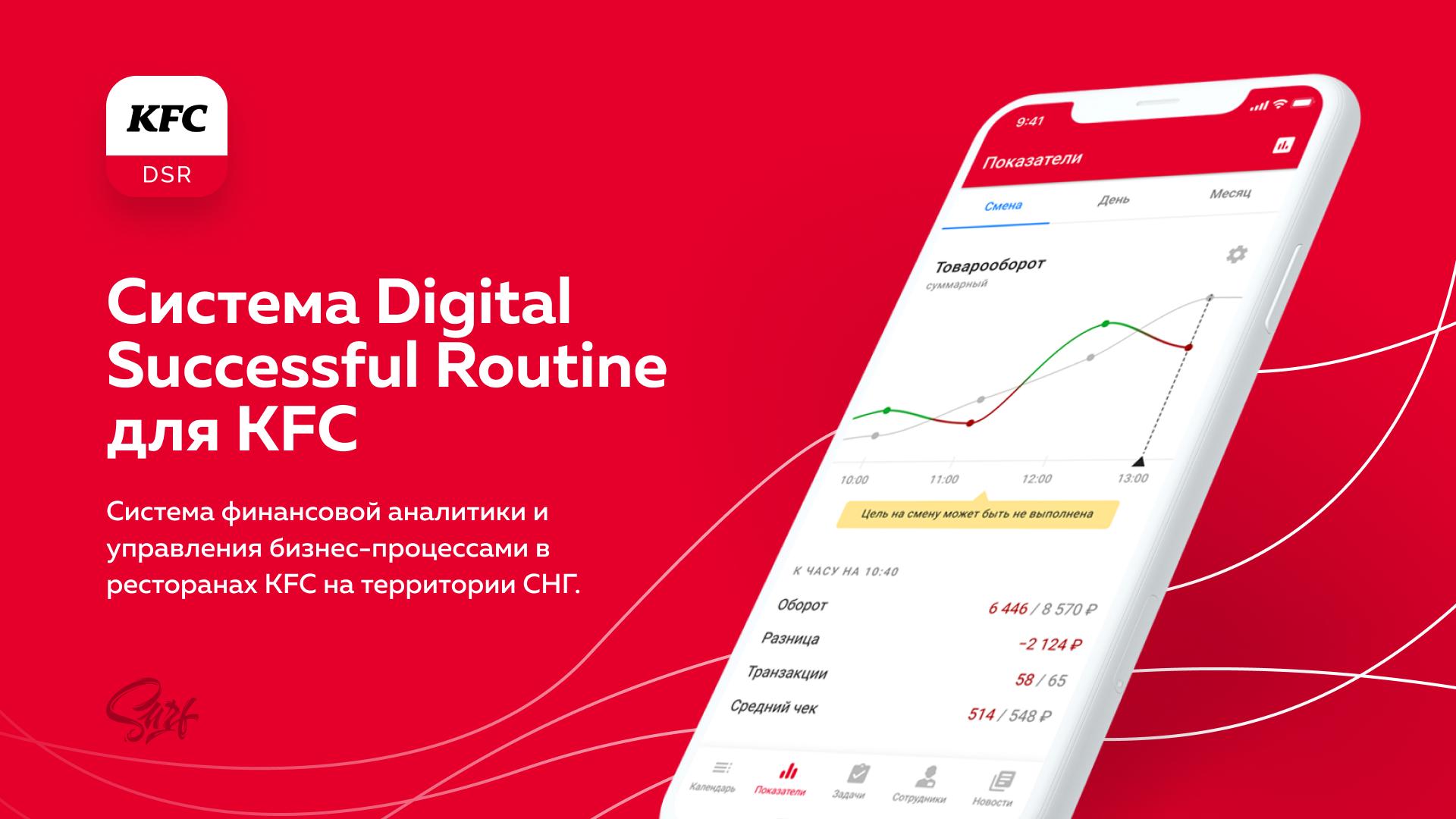 Система KFC DSR (Digital Successful Routine)