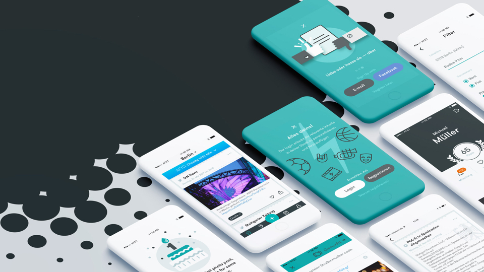 Мобильное приложение Meinestadt