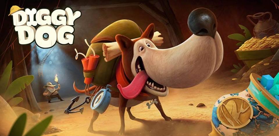 Разработка мобильной игры My Diggy Dog