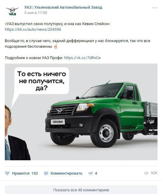 SMM УАЗ