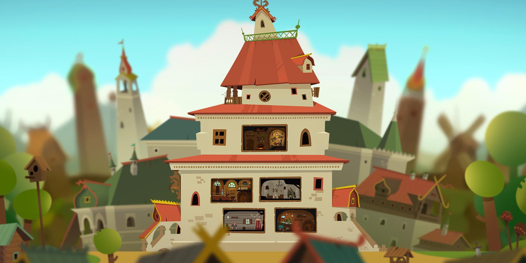 Разработка мобильной игры «Последний богатырь»